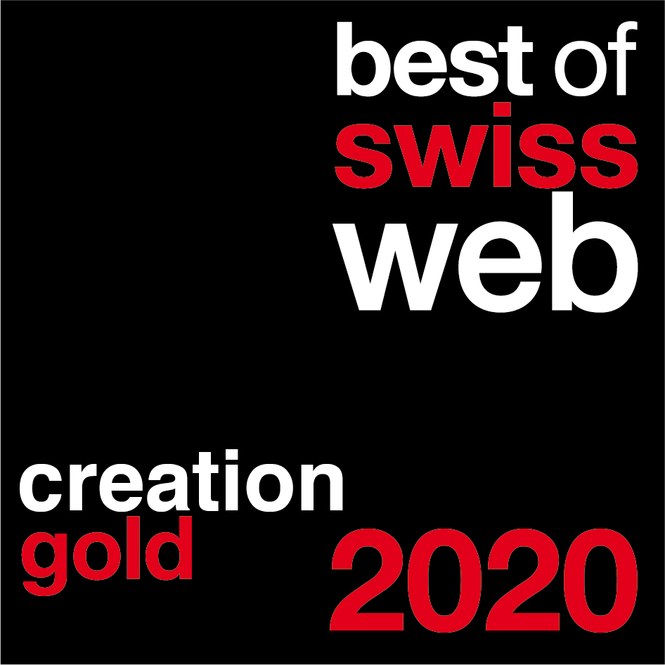 Best of Swiss Web 2020 Creation Gold