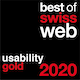 Best of Swiss Web 2020 Usability Gold