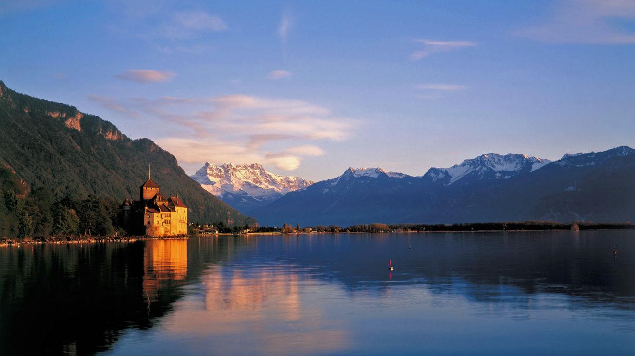 Montreux, Chillon, Château de Chillon Fotograf: Stefan Engler